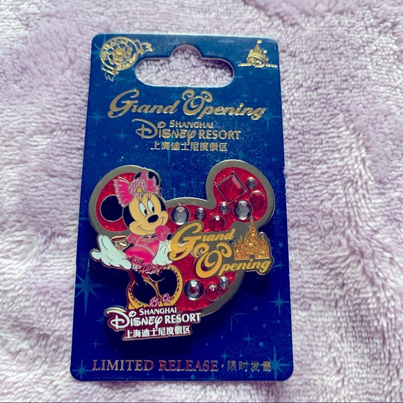 Shanghai Disney Grand Opening Minnie Mouse Pin